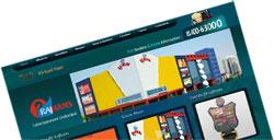 rajhans multiplex web design