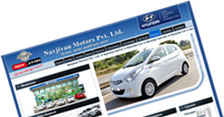 navjivan motors web design